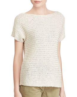Petite Short-sleeve Sweater