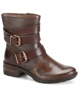 Aldina Leather Ankle Boots