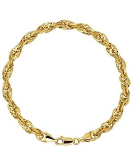14k Yellow Gold Twist Bracelet