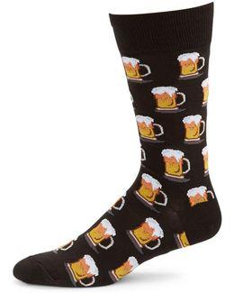 Beer Mug Socks