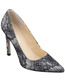 Carra Textile Pointed-toe Pumps