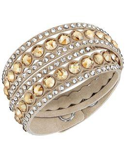 Slake Crystal-accented Wrap Bracelet