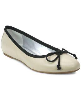 Syla Leather Ballet Flats