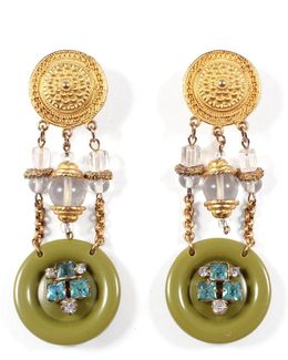 *vintage* 100 Year Earring #2