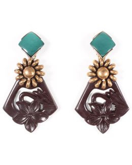 *vintage* 100 Year Earring #4
