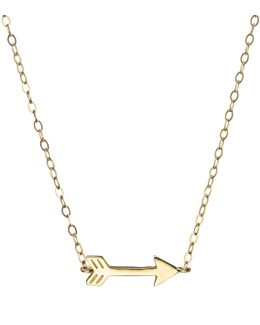 Code 14kt Arrow Necklace