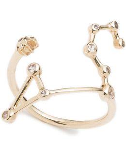 Zodiacs Leo + Fire Ring