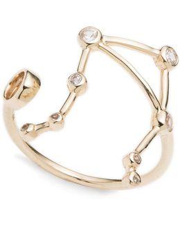 Zodiacs Libra + Air Ring