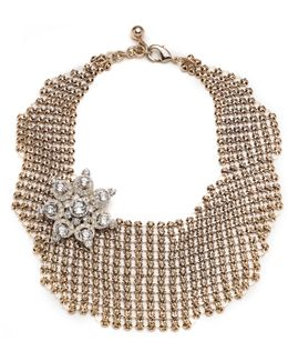 Single Mesh Necklace - Gold