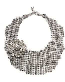 Single Mesh Necklace - Silver