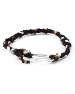 George Frost Taros Bracelet - Black/cream