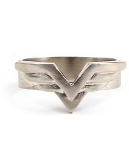 George Frost Velocity Ring - White Bronze