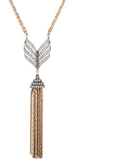 Symmetry Tassel Necklace
