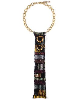 Josephine Sequin Bib Necklace