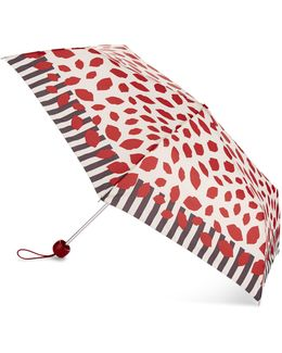 Scattered Lips Superslim Umbrella