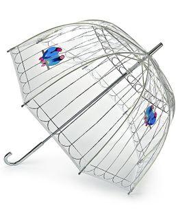 Lovebirds Birdcage Umbrella