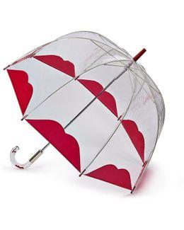Clear Half Lip Birdcage Umbrella