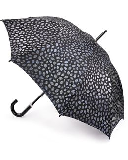 Pewter Scattered Lips Kensington Umbrella