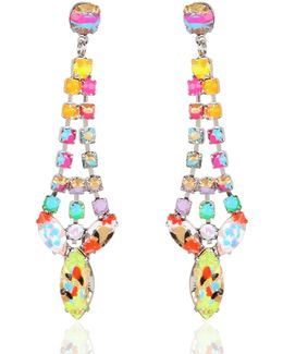 A Riot Of Color Earrings