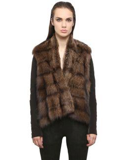 Nappa Leather & Fisher Jacket