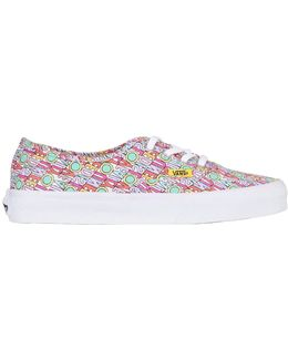 All You Need Is Love Canvas Sneakers