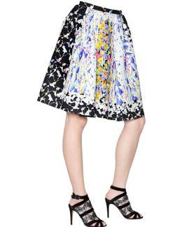 Emma Waffle Silk Skirt