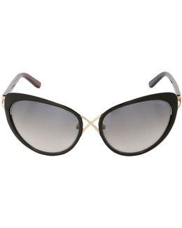 Daria Crossover Cat-eye Sunglasses