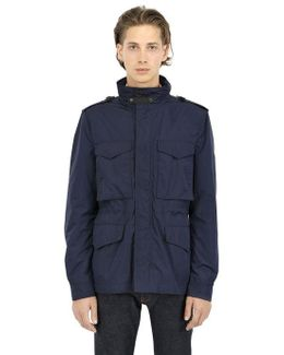 Techno Canvas Field Jacket