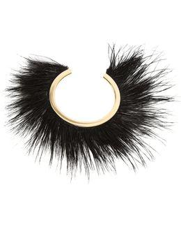 Feather-embellished Bracelet