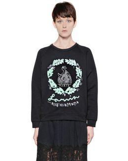 Embellished Heavy Cotton Sweatshirt