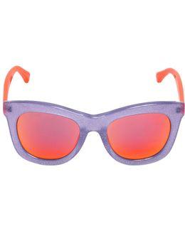 Glittered Acetate Sunglasses