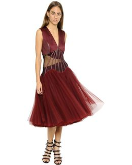 Corset Boning & Tulle Dress