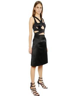 Silk Satin Bondage Dress