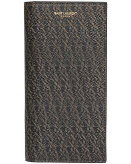 Monogram Faux Leather Wallet