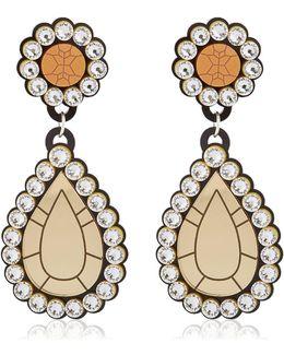 """""""gold Diamonds"""" Drop Earrings"""