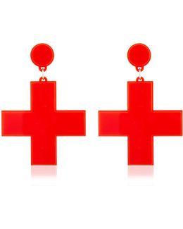 First Aid Earrings