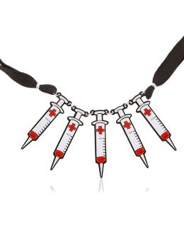 Syringe Necklace