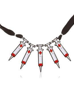 Syringe Necklace