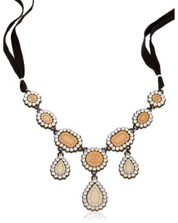 """gold Diamonds"" Necklace"