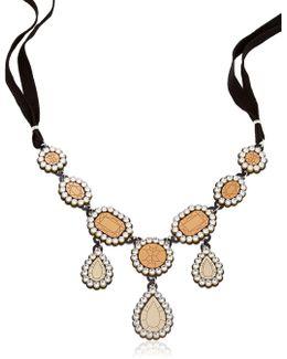 """gold Diamonds"" Necklace"
