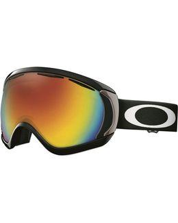 Canopy Fire Iridium Snow Goggle