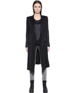Coat 27 In Hemp Fabric