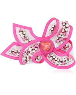 Bow Line Rose Pin