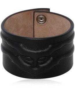 Rib Cage Leather Bracelet