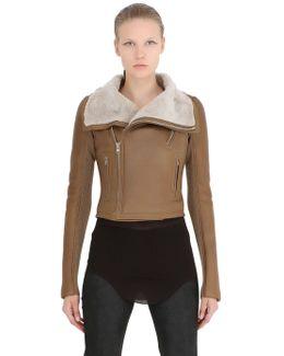 Classic Shearling Moto Jacket