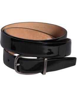 25mm Patent Leather Belt