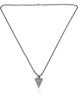 Thea Full Pave Necklace