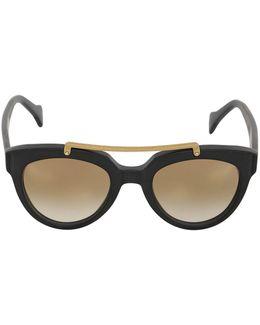 Mars Matte Acetate Sunglasses
