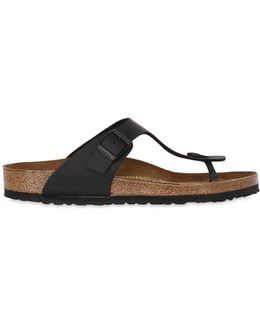 Gizeh Leather Thong Sandals