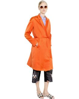 Duchesse Trench Style Coat